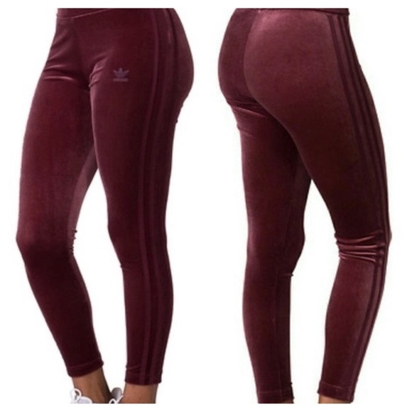 adidas velvet leggings